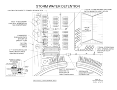 Storm Water Detention Plan